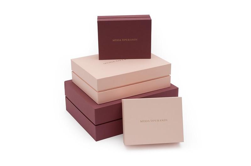 Printed Packaging Boxes - Moda Operandi Case Study