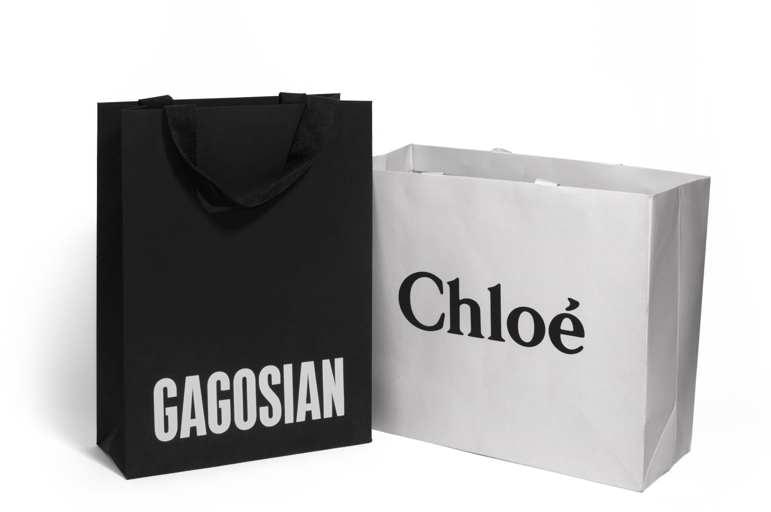 Chloe custom designed shopping bag