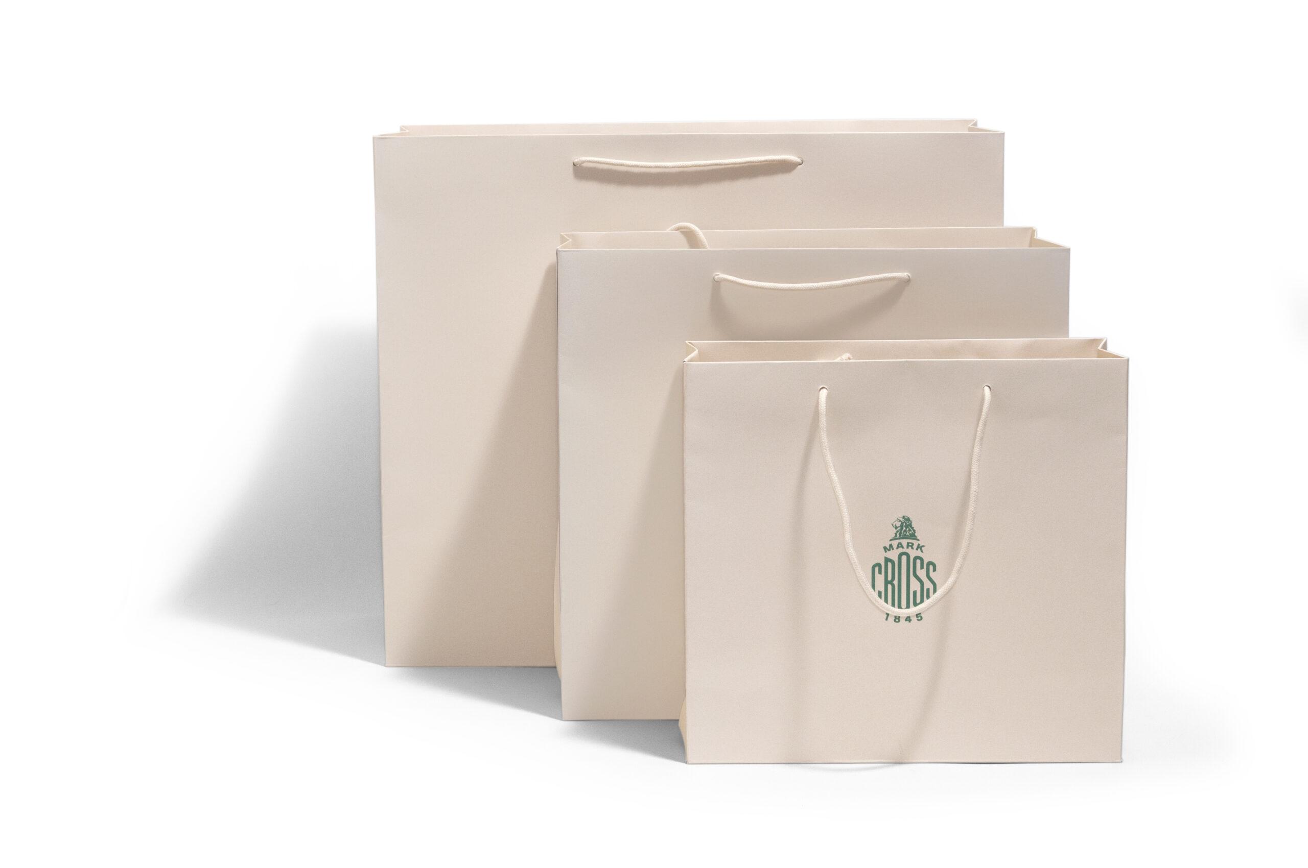 Custom Shopping Bag Printing For Mark Cross