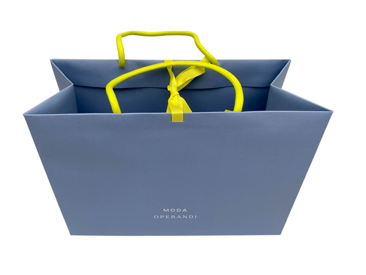 Custom Printed Retail Shopping Bags & Packaging - shopping bags: Moda Operandi